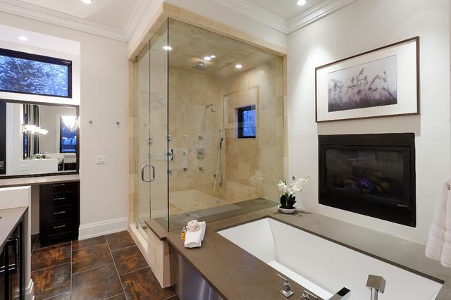 Master Bath rustic-bathroom