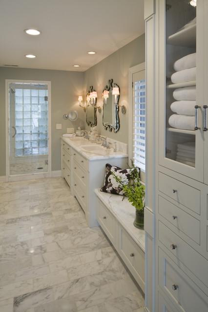 Master Bath transitional-bathroom