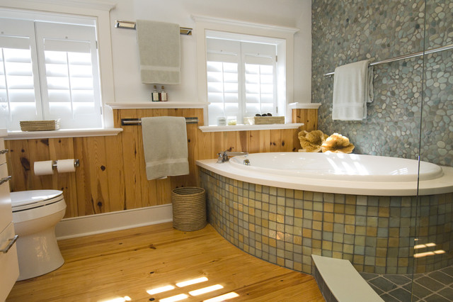 Master bath in Lewes, DE. - Contemporary - Bathroom - Wilmington - by Pine Street Carpenters ...