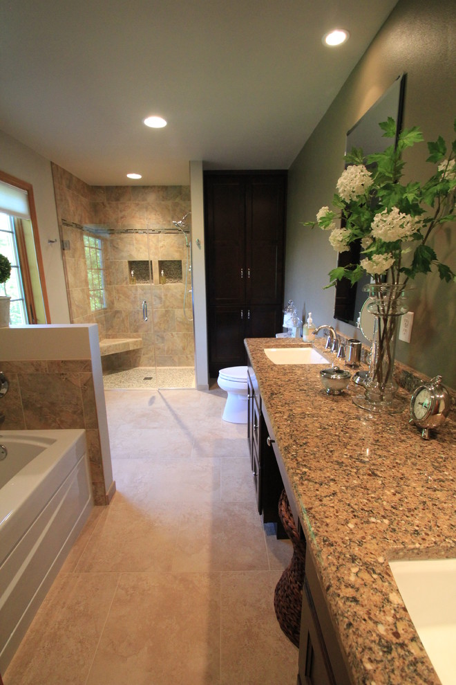 Master Bath in Mequon, WI - Traditional - Bathroom ...