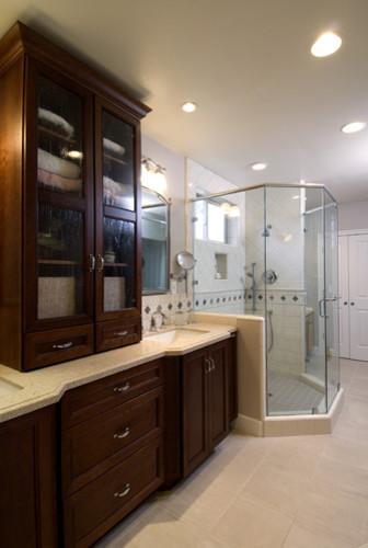 Master Bath in Montara traditional-bathroom