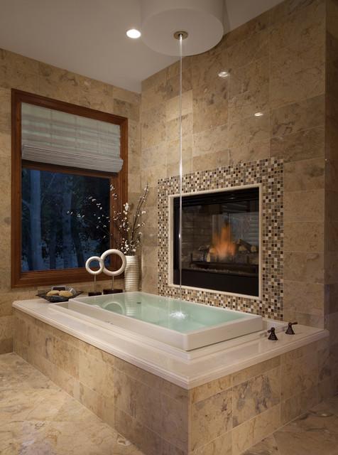 Master bath modern bathroom salt lake city by joe for Custom master bath