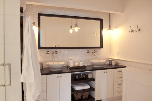 mother of pearl bathroom set
