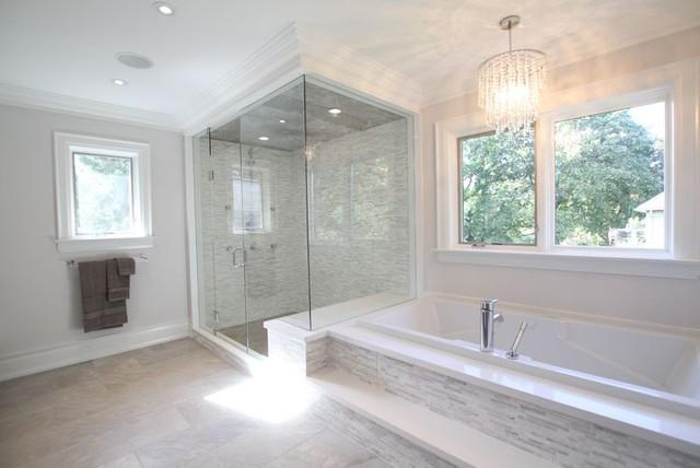Master bath modern bathroom toronto by jodie rosen design - Bathroom design toronto ...