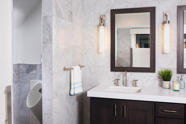 Master Bath Transitional Bathroom