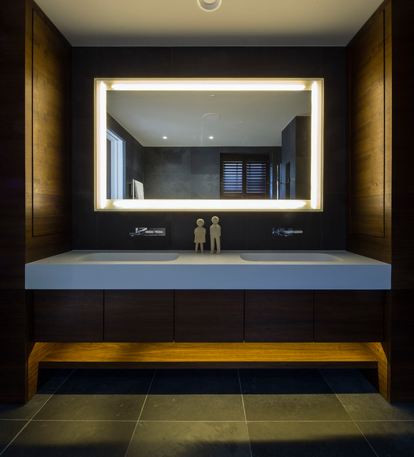 Master bath contemporary bathroom london by folio Bathroom design company london