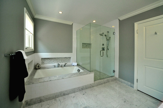 Master Bath transitional-bathroom
