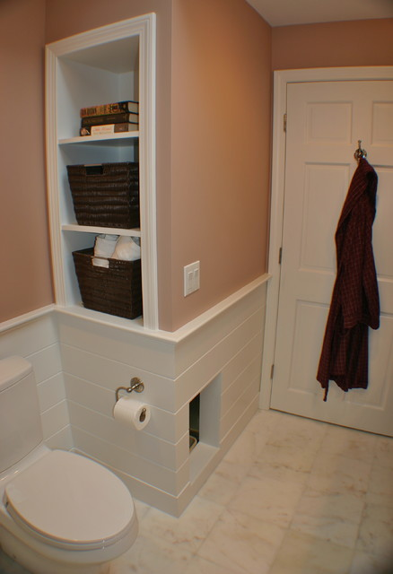 Master bath / laundry - Transitional - Bathroom - boston - by Artisan Kitchens Inc.