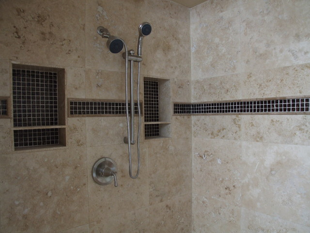 Master Bath Lightening Up Existing Space Traditional