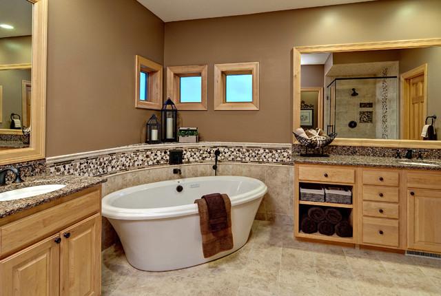 Master Bath Contemporary Bathroom Minneapolis By