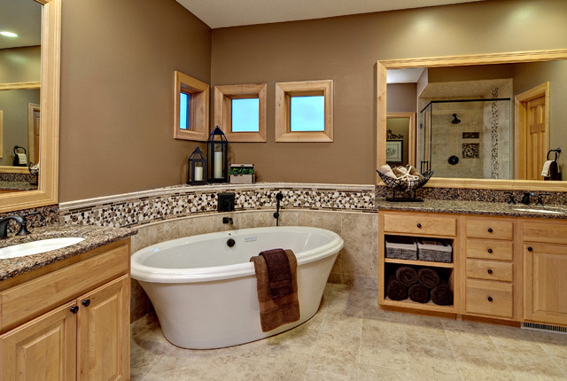 Master Bath Contemporary Bathroom Minneapolis By