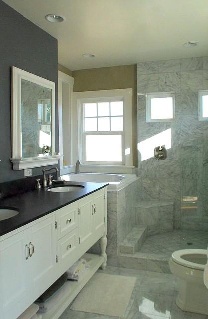 Master bath traditional bathroom sacramento by for Maison design com