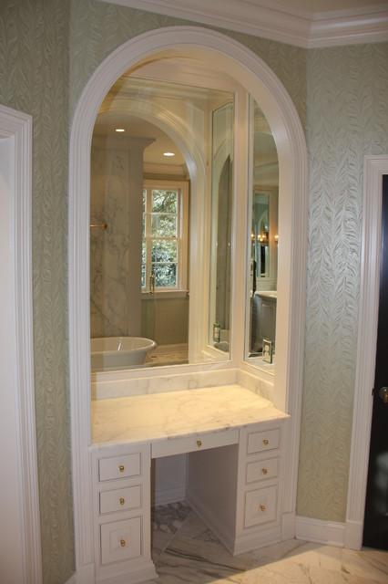 2100 Bathroom Vanity: Master Bath Make Up Vanity