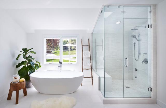 Master bath n rdico cuarto de ba o minneapolis de - Houzz banos ...