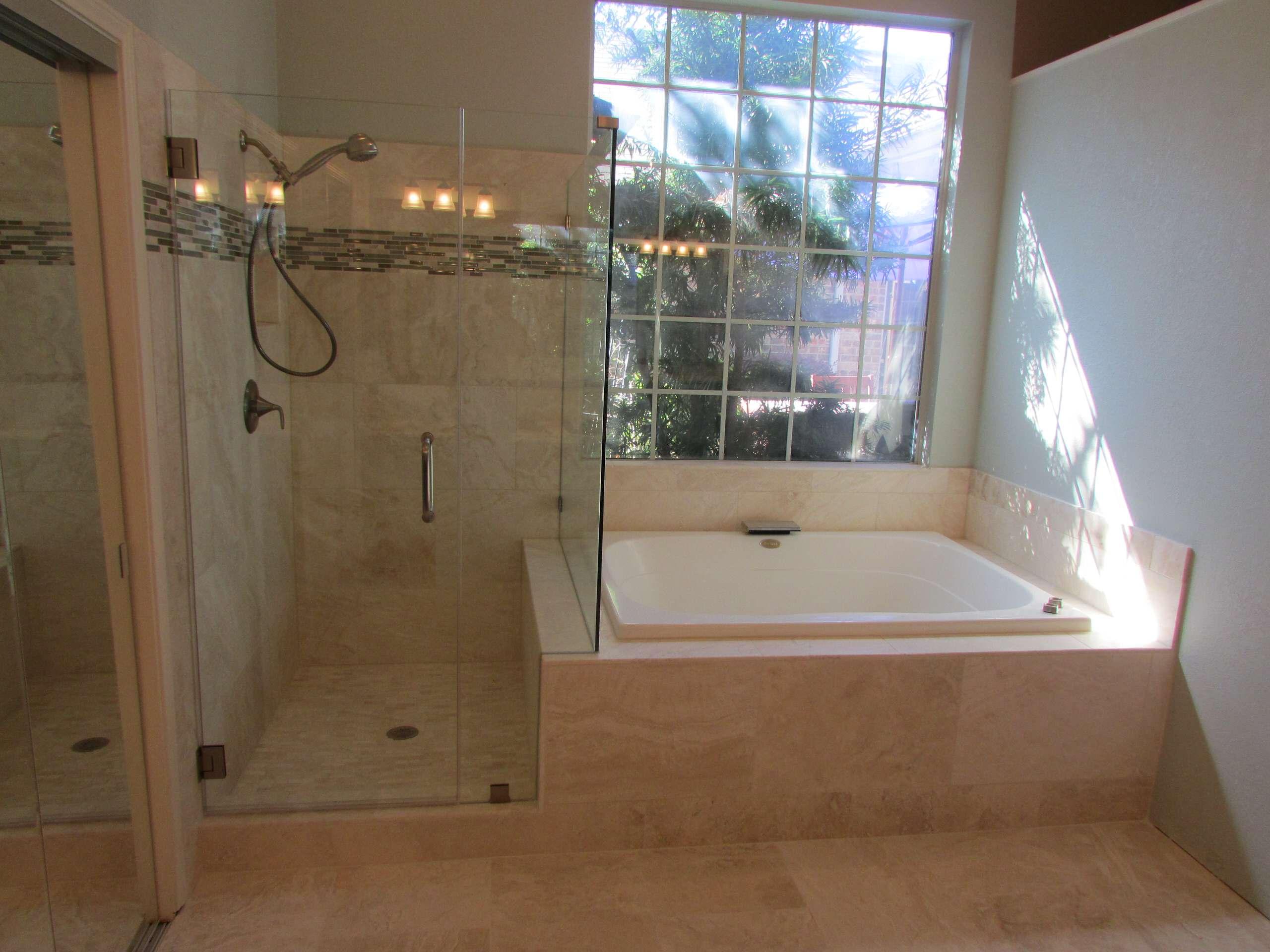 Master Bath North Plano