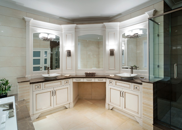 Master Bath Traditional Bathroom Vancouver By Old World Kitchens Custom Cabinets