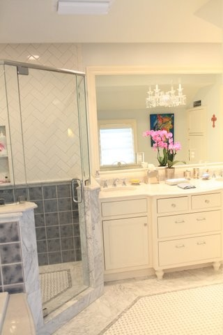 Master Bath on the Parkway traditional-bathroom