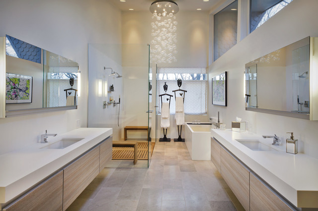 Master Bath Modern Bathroom Minneapolis by Partners 4 Design