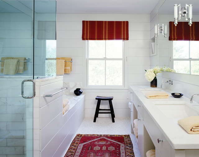 Master Bath Farmhouse Bathroom