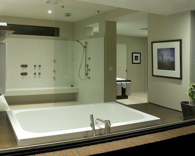 Master Bath Remodel and Addition modern-bathroom
