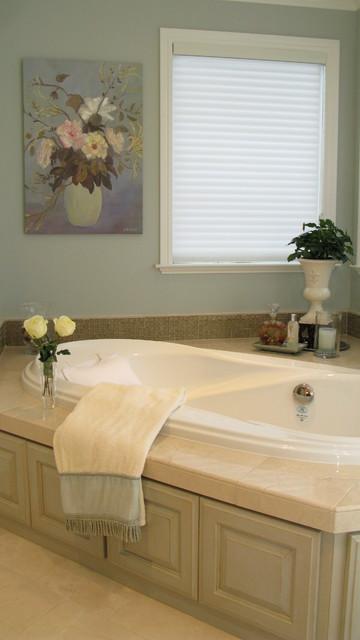 Master Bath Remodel Belmont traditional-bathroom