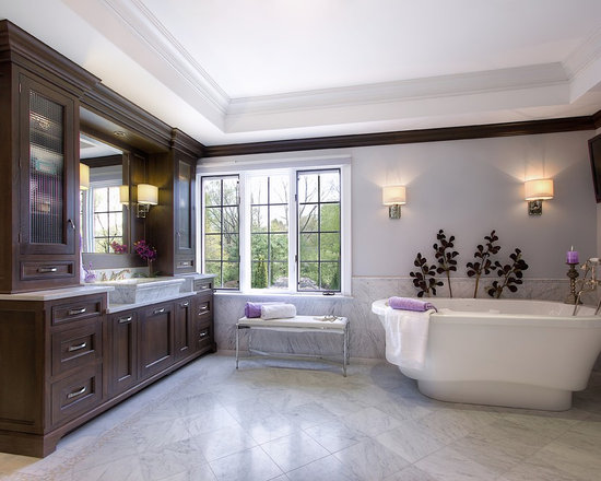 Purple And Silver Bathroom Design Ideas Pictures Remodel