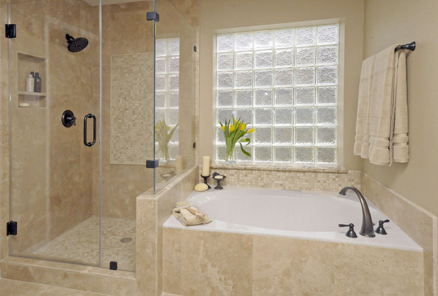 Gentil Master Bath Remodel Traditional Bathroom