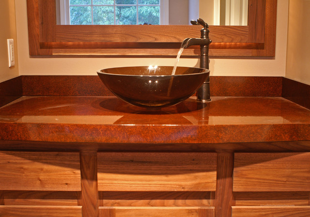 Master bath remodel contemporary-bathroom