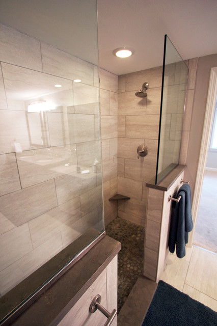 Master Bath Remodel - Golf, IL - Transitional - Bathroom ...