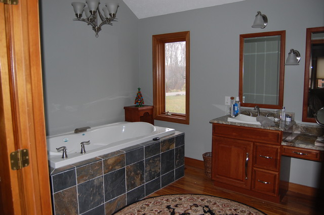 Master bath remodel in carmel indiana for Bathroom remodel indianapolis
