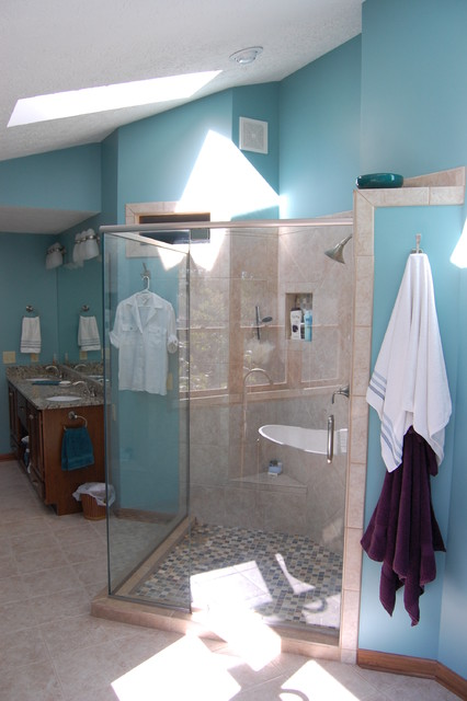 Master Bath Remodel In Greenwood Indiana Contemporary