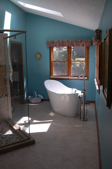 Master bath remodel in greenwood indiana contemporary for Bathroom remodel indianapolis