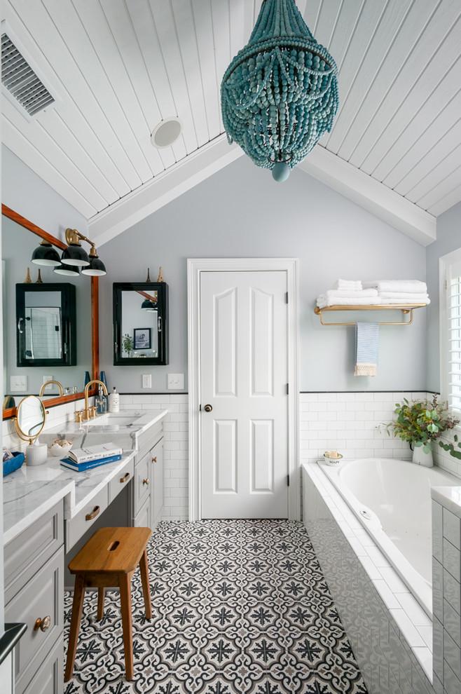 Master Bath Remodel - Transitional - Bathroom - Atlanta ...