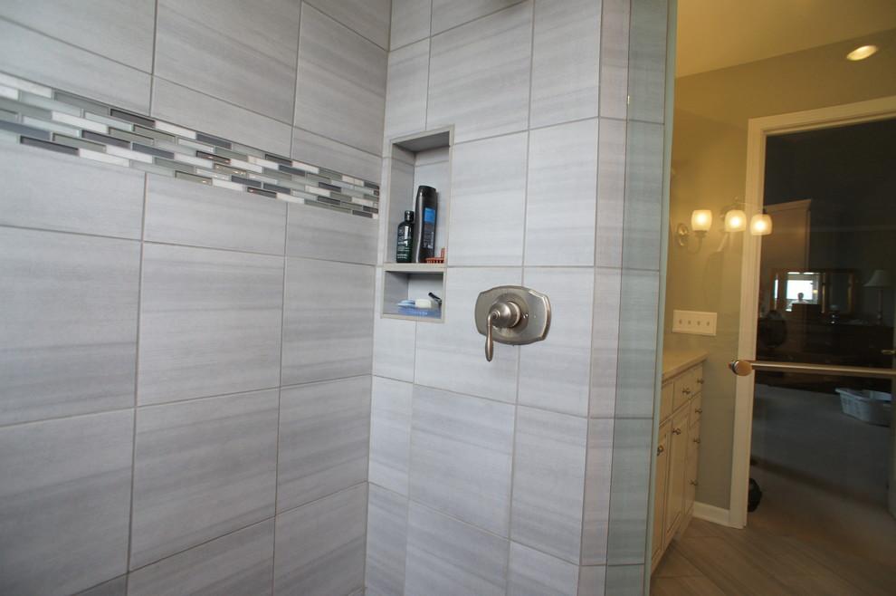 Master Bath Remodel, Leawood, KS - Bathroom - Kansas City ...