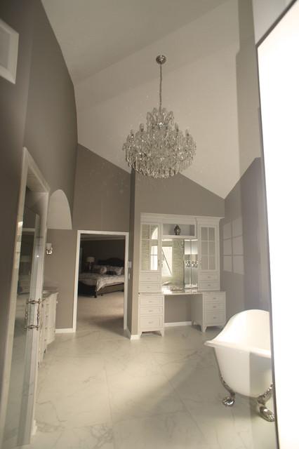 Master Bath Remodel Lenexa Ks Contemporary Bathroom Kansas City By Country Club Builders