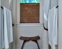 Master Bath Remodel Limestone mediterranean-bathroom