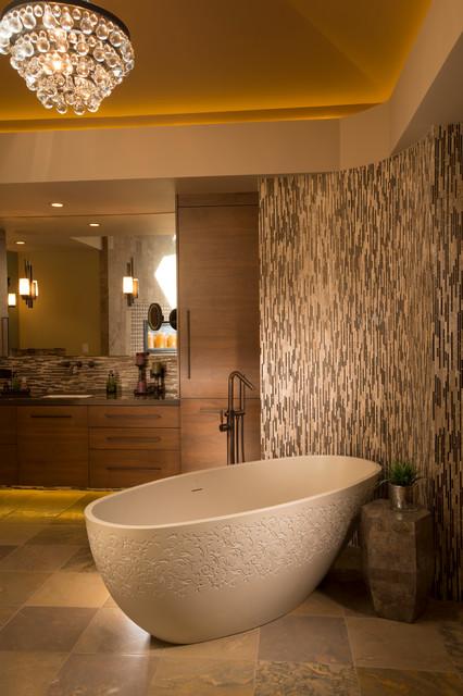 Master Bath Remodel Contemporary Bathroom