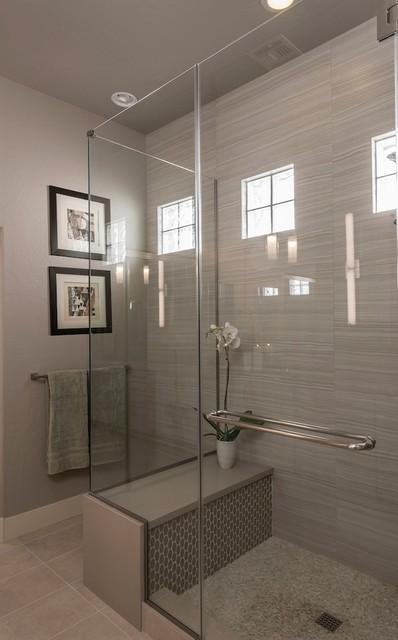 Master bath remodel Phoenix Contemporary Bathroom