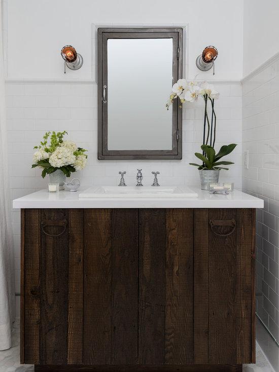 Farmhouse bathroom vanities home design photos decor ideas for Bathroom cabinets yorkshire