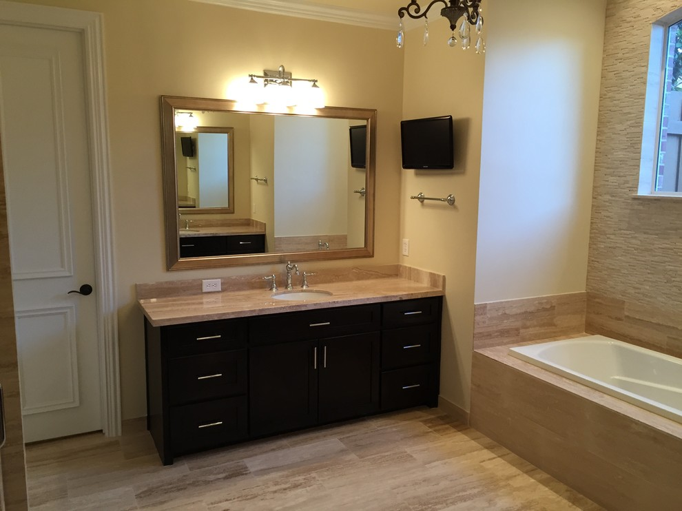 Master Bath Remodeling in Plano TX - Modern - Bathroom ...