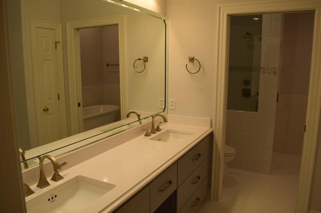 Master Bath Renewal Transitional Bathroom Raleigh