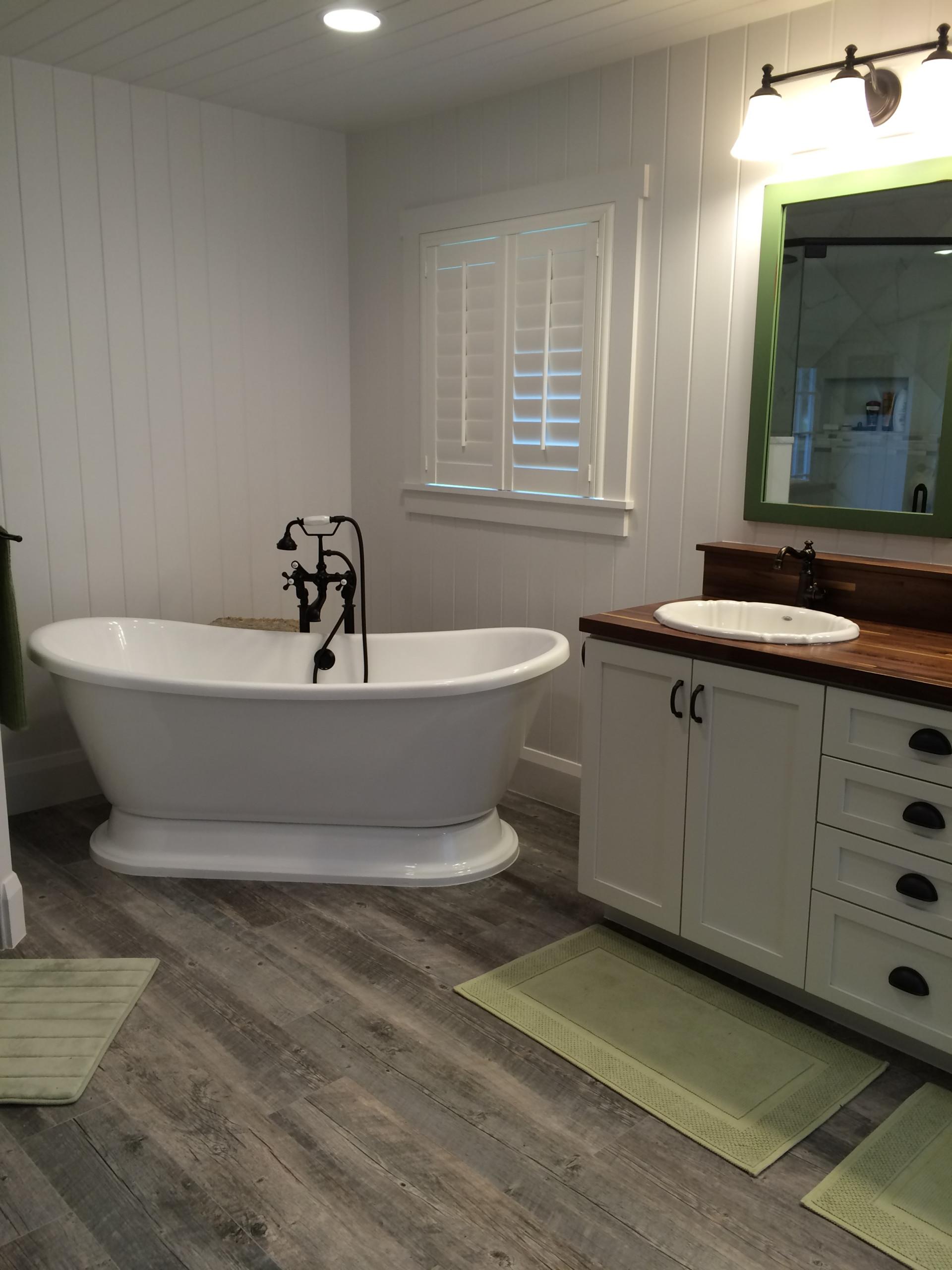 Master Bath Renovation - Country Flair