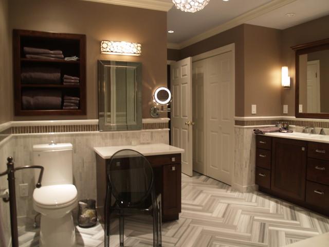 Master Bath renovation contemporary-bathroom