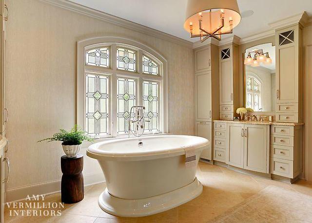 Master Bath Renovation Foxcroft Traditional Bathroom
