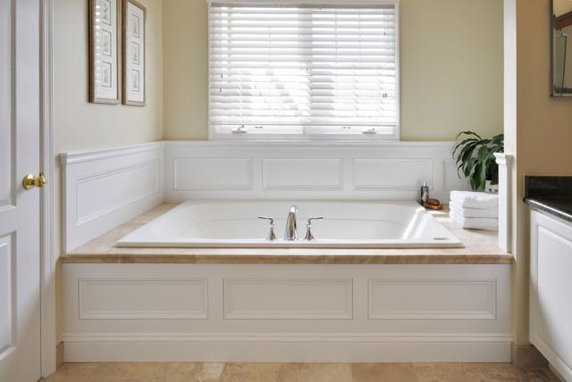 Master Bath Renovation Lite Eclectic Bathroom Dc