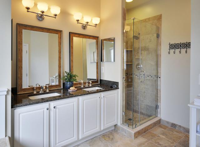 Master Bath Renovation Lite eclectic-bathroom