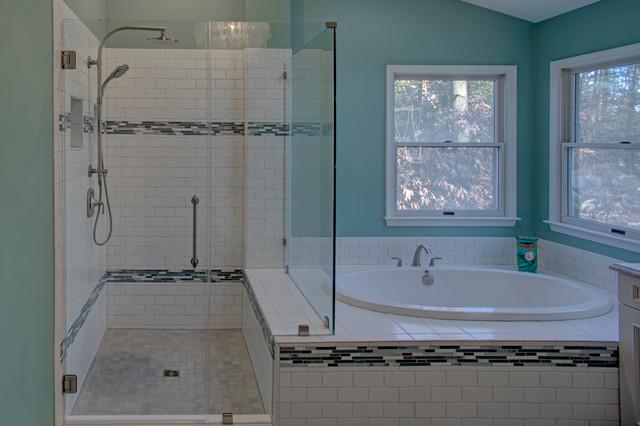 Master Bath Renovation Pasadena Md Traditional