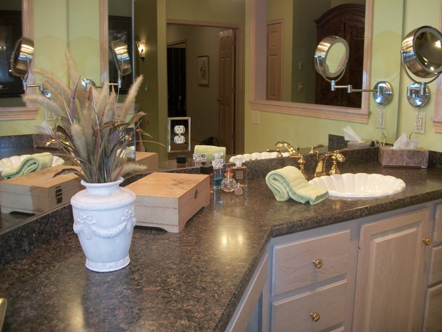 Master Bath Renovation Wadsworth Oh 1 Traditional Bathroom Cleveland By Cabinet S Top