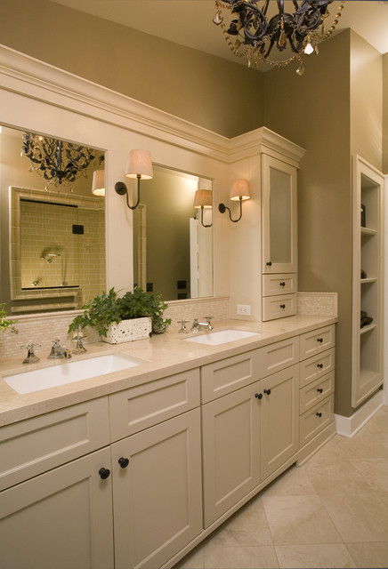 Master Bath Retreat - Traditional - Bathroom - seattle - by Kayron Brewer, CKD, CBD / Studio K B