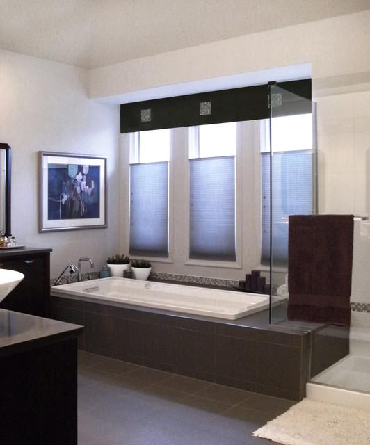Master Bath Shower and Tub modern-bathroom